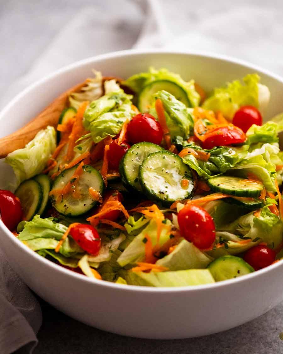 Big bowl of Garden salad
