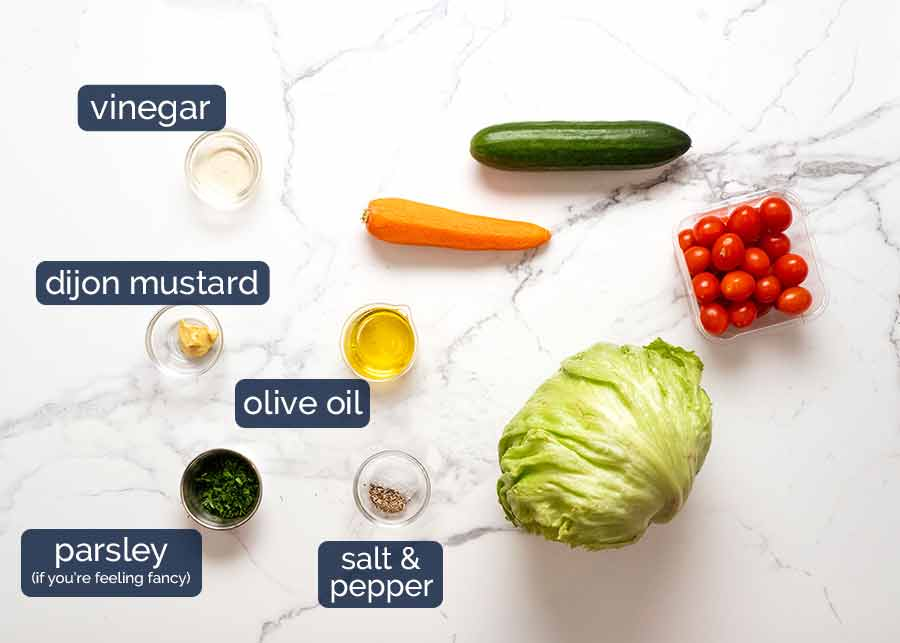 What to put in a Garden salad