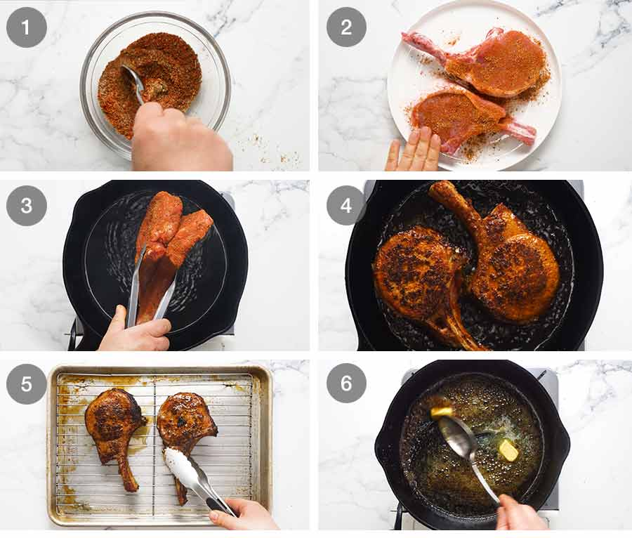 How to use and cook pork with a pork rub