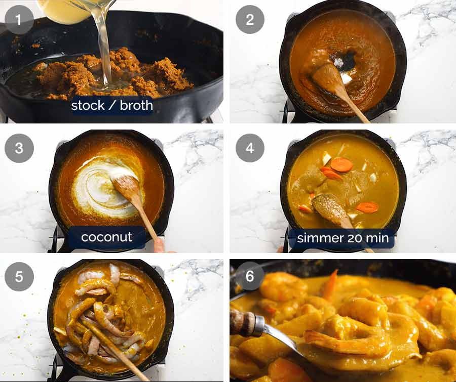 How to make Thai Yellow Curry 2a
