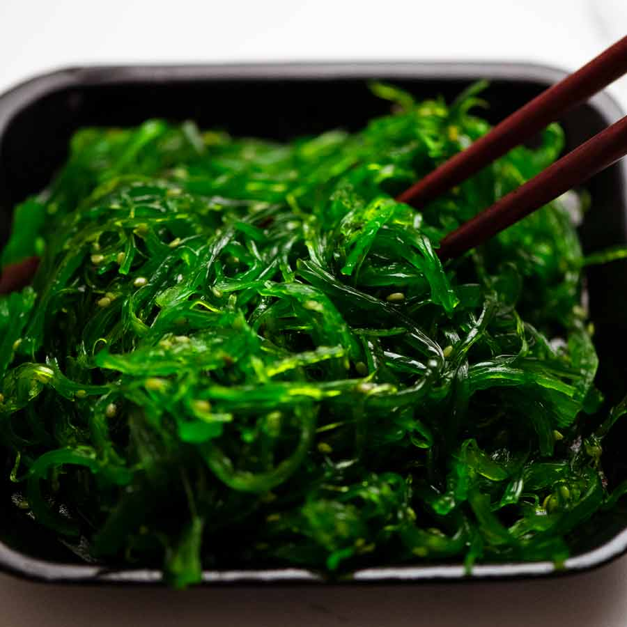 Seaweed salad for Japanese Slaw - Chargrill Charlie's Copycat