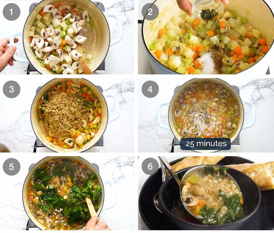 How to make Pearl Barley Soup