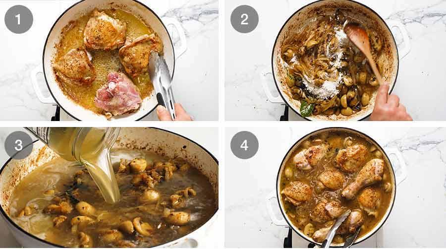 How to make Chicken Fricassée