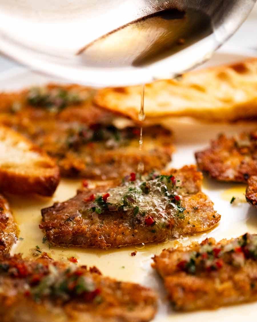 Italian Crusted Sardines