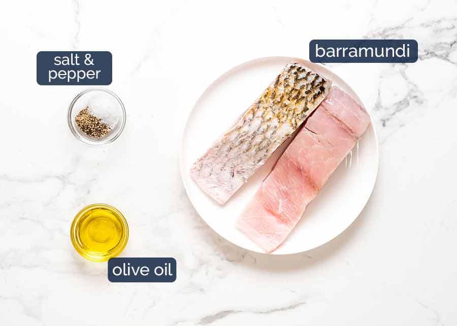 What you need to make Crispy Skin Barramundi
