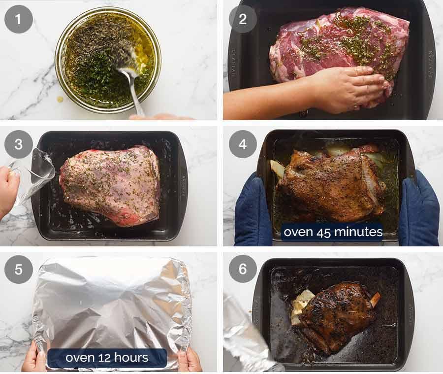 How to make 12 Hour Slow Roasted Lamb Shoulder