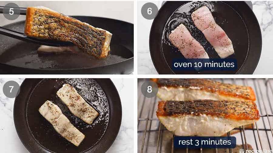 How to make crispy skin barramundi